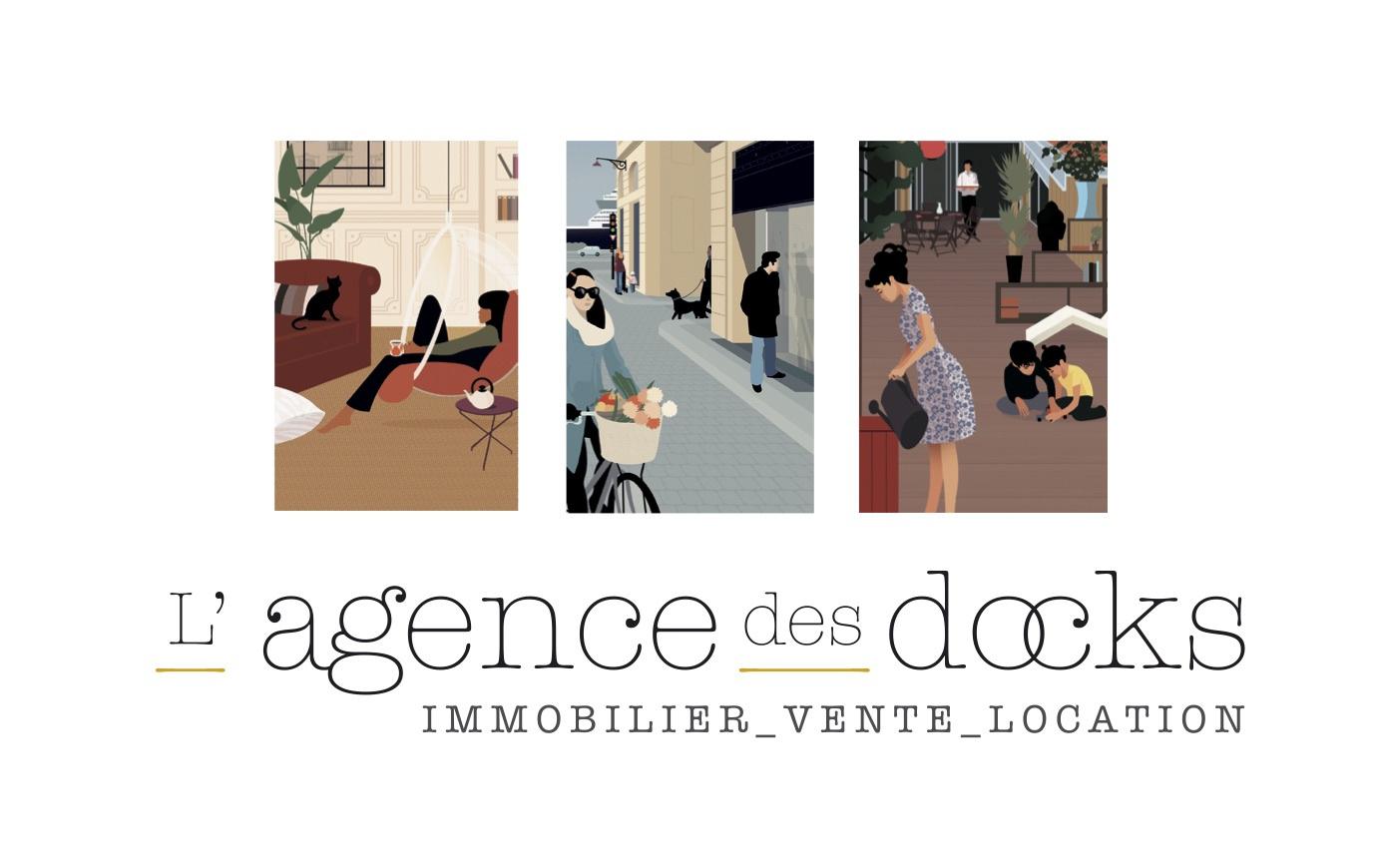 Immobilier bordeaux l 39 agence des docks vente et for Agence de location maison