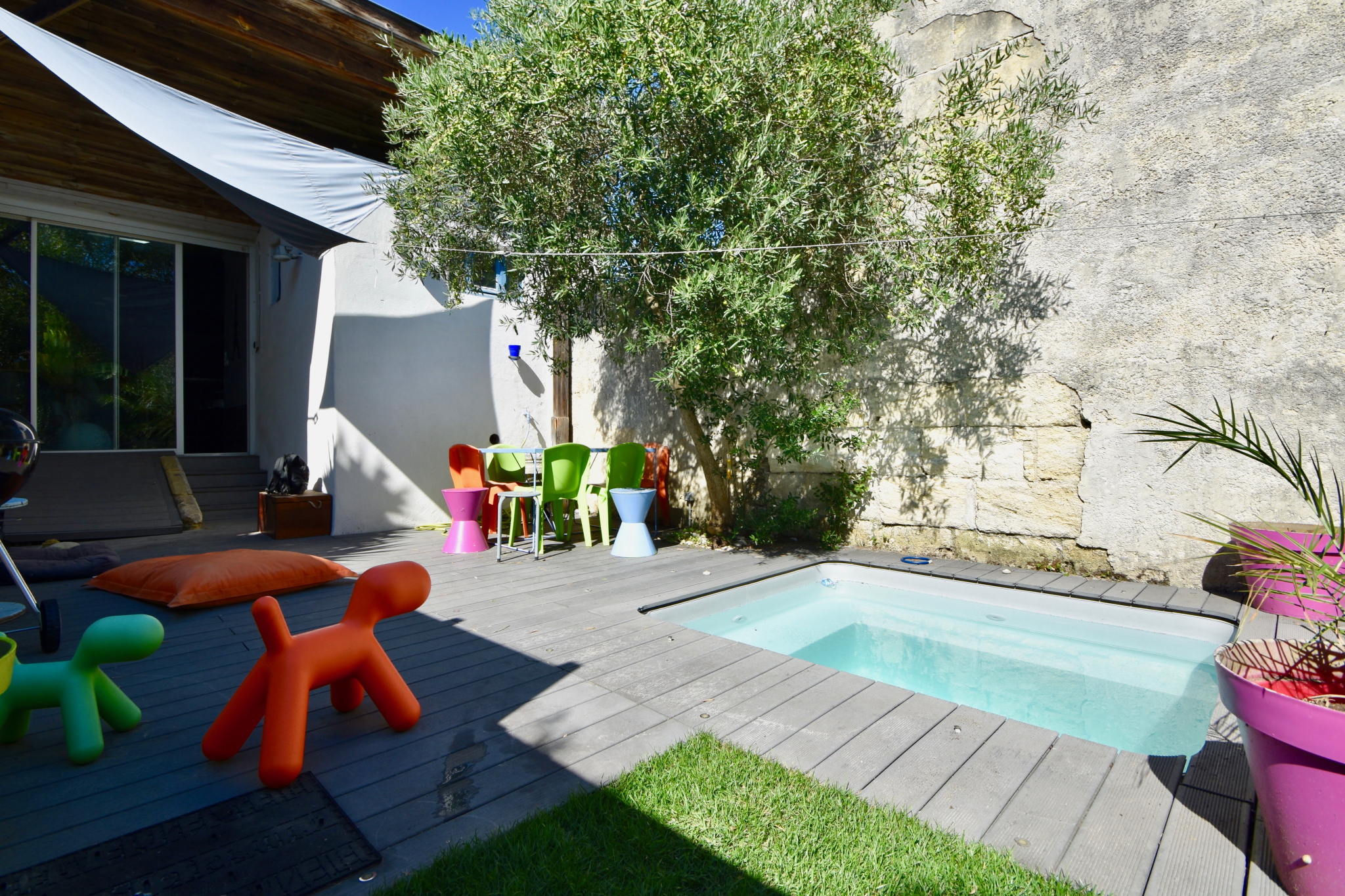Vente Bordeaux Nansouty Echoppe Avec Adorable Jardin Et Sa